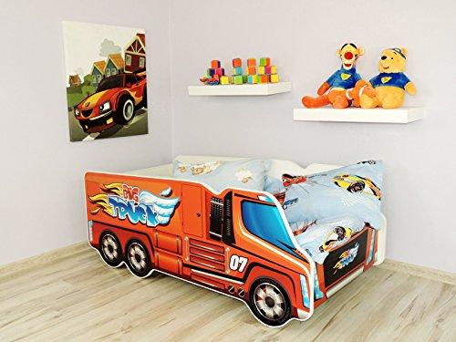 Moderne Lit d'Enfant Bébé Toddler avec matelas Voiture TRUCK(Big Truck)