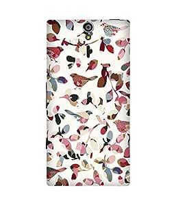 Bird Texture Sony Xperia S Case