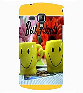ColourCraft Friendship Design Back Case Cover for SAMSUNG GALAXY S DUOS 2 S7582