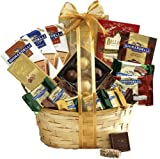Broadway Basketeers Gourmet Sympathy Chocolate Gift Basket