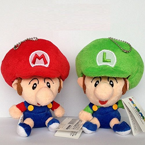 Mario And Luigi Stuffed Animals