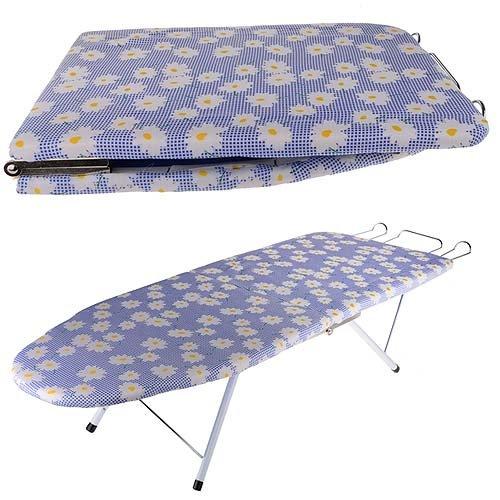 folding compact iron board portabl table top mini ironing. Black Bedroom Furniture Sets. Home Design Ideas