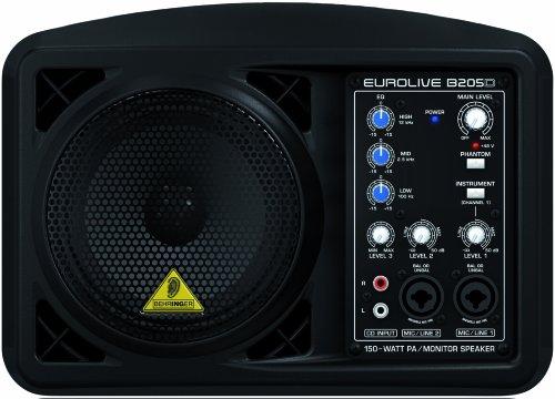 Behringer B205D Eurolive 150W PA/Monitor Speaker System
