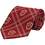 NCAA Indiana Hoosiers Crimson Plaid Woven Tie at Amazon.com