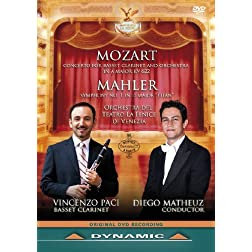 Mozart; Mahler: Concerto For Basset Clarinet and Orchestra; Symphony No. 1 In D Major 'Titan'