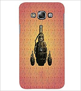 PrintDhaba Hand Granade D-3427 Back Case Cover for SAMSUNG GALAXY GRAND 3 (Multi-Coloured)