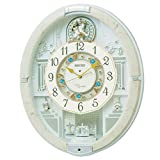 SEIKO CLOCK (セイコークロック) 掛け時計 ウエーブシンフォニー 電波時計 ツイン・パ からくり RE576A