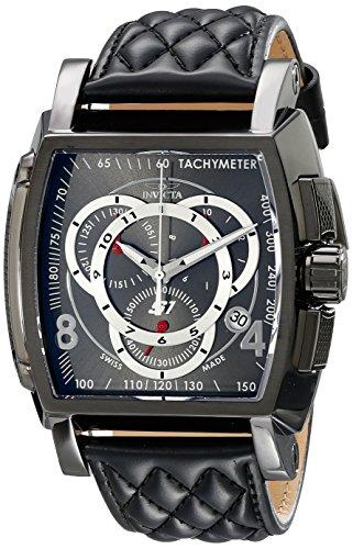 Invicta Men's 15792 S1 Rally Analog Display Swiss Quartz Black Watch