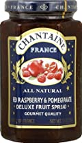 Chantaine Preserve, Pomogranite, Red Rasberry 11.5 OZ (Pack of 6)