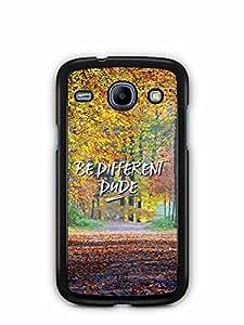 YuBingo Be Different Dude Designer Mobile Case Back Cover for Samsung Galaxy Core