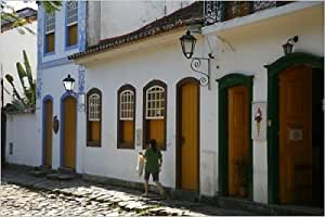 in the historic part of Parati, Rio de Janeiro State: Posters & Prints