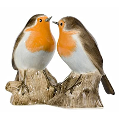 Quail Ceramics - Robin Salt And Pepper Pots by Quail Ceramics