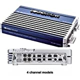 Soundstream RUB4.600 100 x 4 4-Channel Amplifier (Midnight Blue) ~ Soundstream