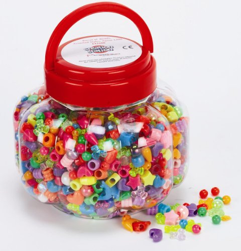creation-station-215-g-barrel-of-beads-in-assorted-styles-pack-of-1200