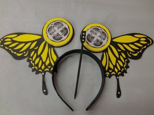 Cosplay Goods Š Magnet Vocaloid Š Tm Miku Headphone Yellow Butterfly (Japan Import)