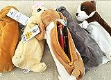 Chien animal en peluche Soft Design Pencil Box Case Porte-monnaie, Chihuahua
