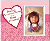 Sweetest Valentine Kisses for my Great Grandma Valentine's Day Picture Frame Gift