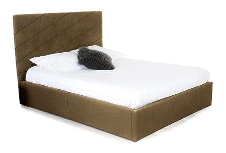 DIAG cama baúl adulto 140x 190cm + somier-Taupe