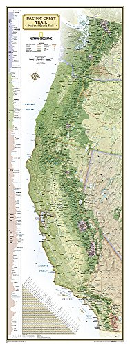 Pacific Crest Trail Wall Map [Boxed] (National Geographic Reference Map) PDF