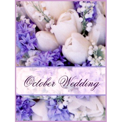 OCTOBER WEDDING BOUQUET - OCTOBER WEDDING - ANIMATED ...