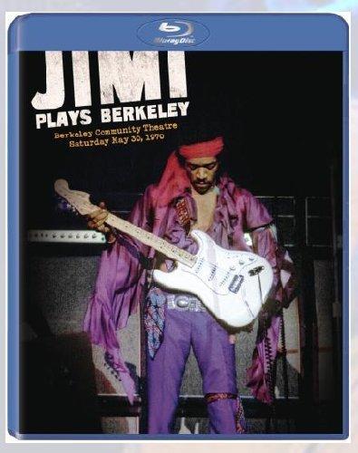 Blu-ray : Jimi Hendrix - Jimi Plays Berkeley (Blu-ray)