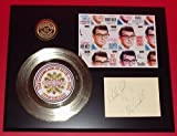 Buddy Holly 24Kt Gold Record Signature Series LTD Edition Display