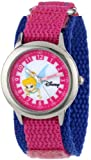 Disney Kids' W000073 Tinker Bell Stainless Steel Time Teacher Watch