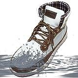 [防水] リベルト エドウイン レインシューズ メンズ ブーツ レインブーツ スノーブーツ スノーシューズ 防滑 防寒 スニーカー 60246-wh/cm-255