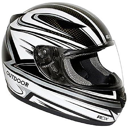 Casque moto intégral ADX XR1 OUTDOOR - Noir / Gris