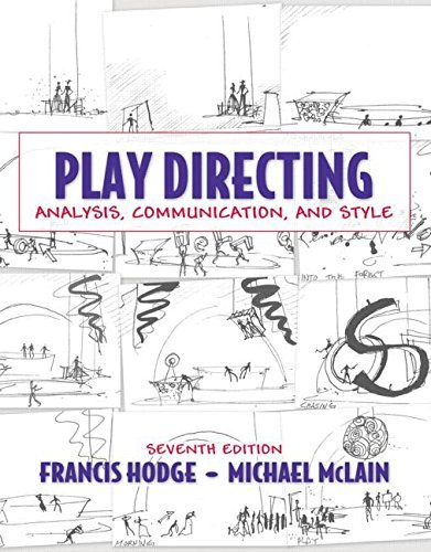 Play Directing: Analysis, Communication, and Style by Hodge Francis McLain Michael (2009-06-23) Hardcover (Hodge Directing compare prices)