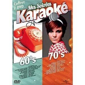 Mes Soirées Karaoké Années 60 + 70 (2 DVD)