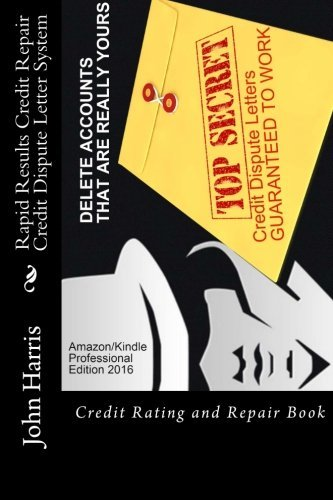 RAPID RESULTS Credit Repair Credit Dispute Letter System (Credit Software compare prices)