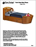 Children's Twin Boat Bed with Trundle Bed Project Plans -Design #1BT01
