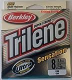 Berkley  Trilene Sensation Monofilament 330 Yd Spool (8-Pound,Clear)