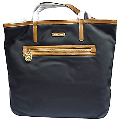 Michael Kors Kempton Large North/South Tote in Black
