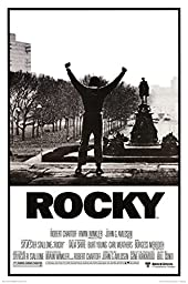 Rocky - Movie Score Arms Up Poster 24 x 36in