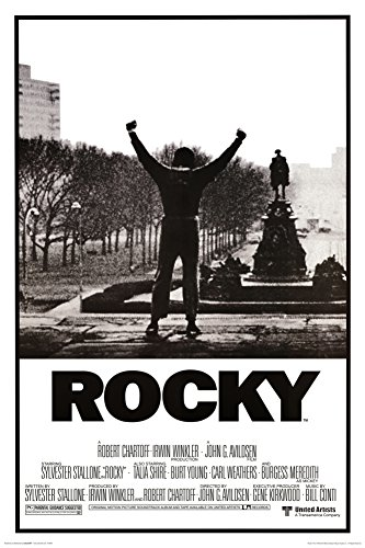 Rocky Poster - His whole life was a million to one shot, 24x36 (Movie Posters compare prices)