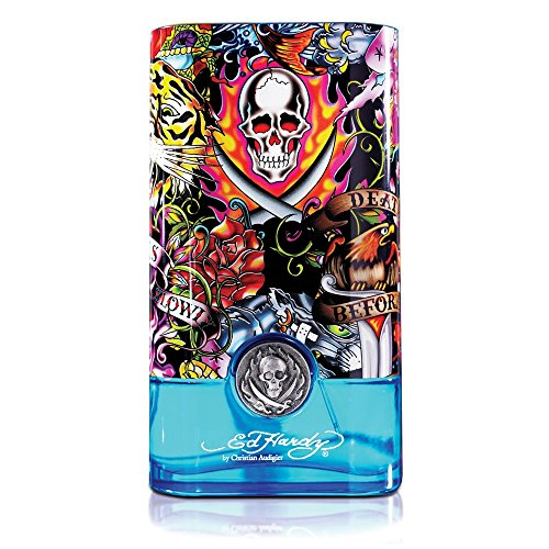 Ed Hardy Hearts And Daggers Eau De Toilette Spray-Men, 1 Ounce