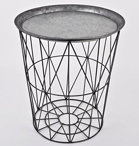 Beistelltisch metall rund com forafrica for Metall beistelltisch