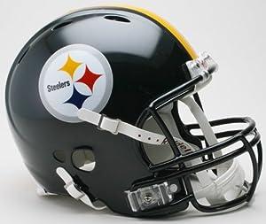 Pittsburgh Steelers Authentic Pro Line Revolution Riddell Full Size Helmet by Riddell