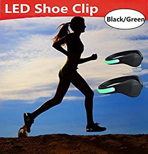 light for Running,LED Shoe Clip,light for running in dark,Toullfly Super bright safety light for Running, Cycling, Walking & all outdoor sports. W available at Amazon for Rs.199
