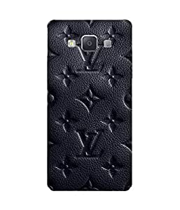 Black Lv Back Cover Case for Samsung Galaxy A5