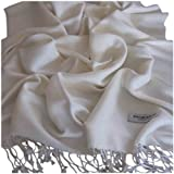 Plain Colour Design Pashmina & Silk Shawl Scarf Wrap Stole Throw Seconds
