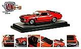 おもちゃ 1970 Ford Mustang Boss 302 Red With Black Stripes 1/24 by M2 Machines 40300-48A [並行輸入品]