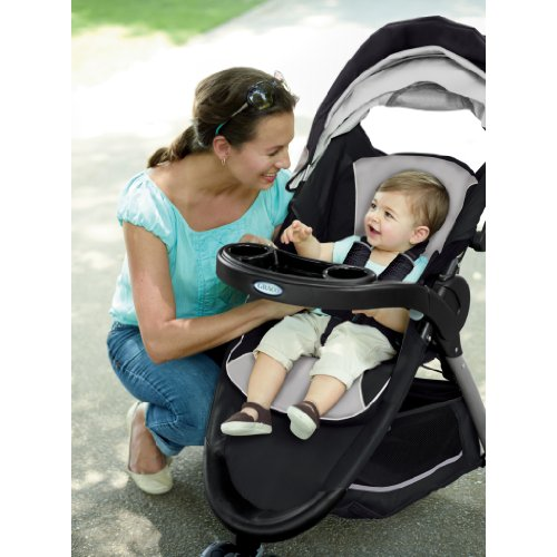 Graco Fastaction Fold Sport Stroller Click Connect Travel System Pierce Reviews Questions