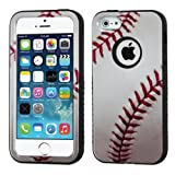 iPhone 5s/iPhone 5 Baseball-Sports Collection/Black VERGE Hybrid Protector Cover