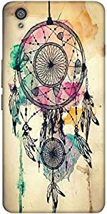 Snoogg Dream Catcher Colourful Solid Snap On - Back Cover All Around Protecti...