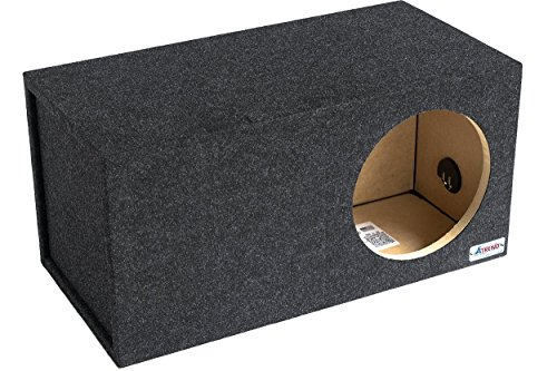 Atrend 12LSV 12-Inch Single Vented Subwoofer Enclosure (Subwoofer Box 12 Vented compare prices)