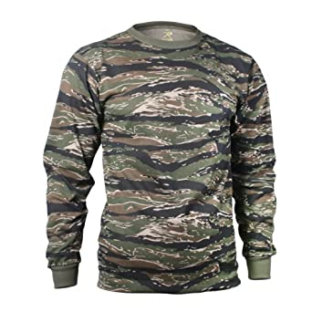 WOODLAND DIGITAL CAMO LONG SLEEVE T-SHIRT by Rothco