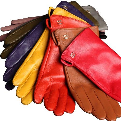 Женские перчатки на осень
